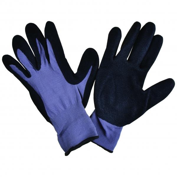 Handschuh Nylon/Nitril, grau