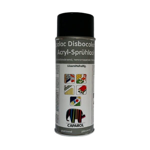 Acryl Sprühlack RAL 9005 - Tiefschwarz 400ml